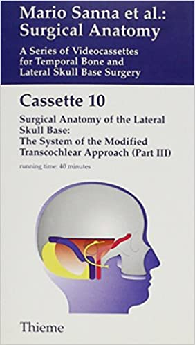 Buy Surgical Anatomy A Series Of Video Cassettes For Temporal Bone