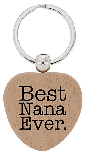Mothers Gifts Nana Heart Keychain