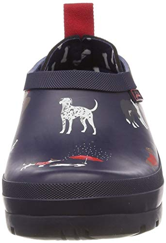 Mujer Botas Azul Agua De Pop Para Dogs navy Navdogs Joules On BYqH17S