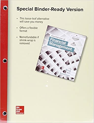 Loose leaf foundations of financial management with connect access loose leaf foundations of financial management with connect access card 16th edition fandeluxe Gallery