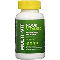 NoorVitamins Multi-Vitamin and Mineral - 60 Tab - Halal Vitamins