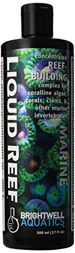 Brightwell Aquatics ABALRF500 Liquid Reef Salt Water Conditioners for Aquarium, 17-Ounce