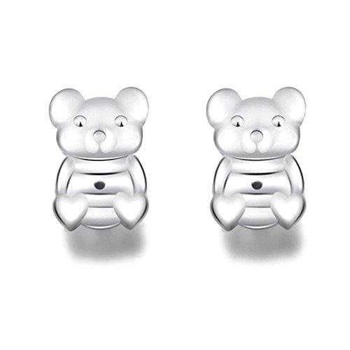 Bax Bear - KOBWA Magic Earring Backs Safety Adjustable Hypoallergenic Earring Lifters Fits All Post Earrings Accessories for Women and Girls