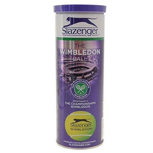 3 St/ück Slazenger Unisex Wimbledon Tennisb/älle