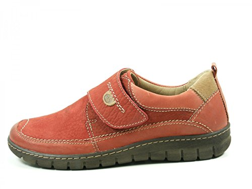 Josef Seibel Women's Stefffi Son 03 Low-Top Sneakers Rot syvIDGw