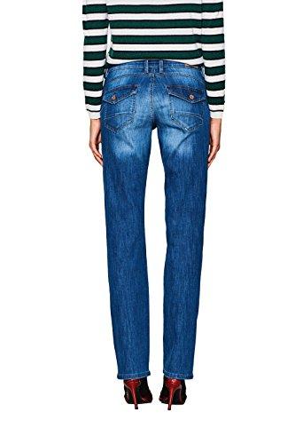 Straight Blu Wash Jeans Esprit 902 blue By Donna Medium Edc nx84Tw