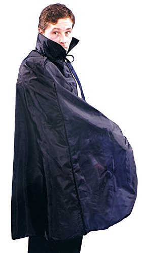 BESTPR1CE Cape 45In Taffeta Black Costume Accessory
