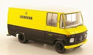 Mercedes L408 vagón caja, Liebherr, Modelo de Auto, modello completo, Schuco 1:43