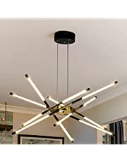 LED Sputnik Chandeliers Modern Chandeliers 12-Light LED Close to Ceiling Light for Kitchen Bedroom,,Living Room,Dinning Room,Kitchen 3000-6000K