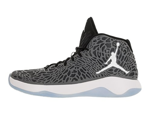 Grey Ultra White Black Cool Basketball Jordan Mens fly Shoes Hqw5Yzv
