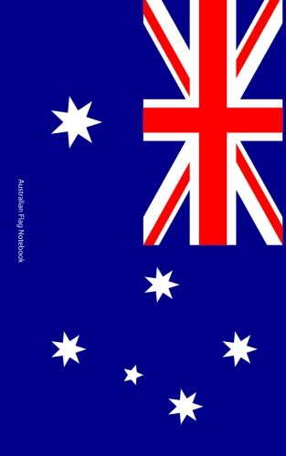 Price comparison product image Australian Flag Notebook: College Ruled Writer's Notebook for School,  the Office,  or Home! (5 x 8 inches,  78 pages)