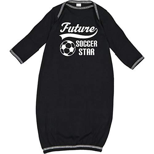 inktastic - Future Soccer Star Ball Sports Newborn Layette Black 27d2c
