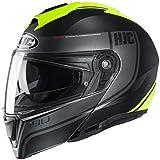 HJC i90 Davan Modular Helmet Black/Hi-Vis XS