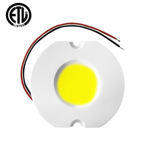 Alight 25W COB LED Chip AC 110V/220V for DIY Blub Spotlight Downlight High Power Dimmable Driverless LED module (warm white 3000k)