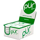 PUR Gum Aspartame Free Spearmint, 12 Count