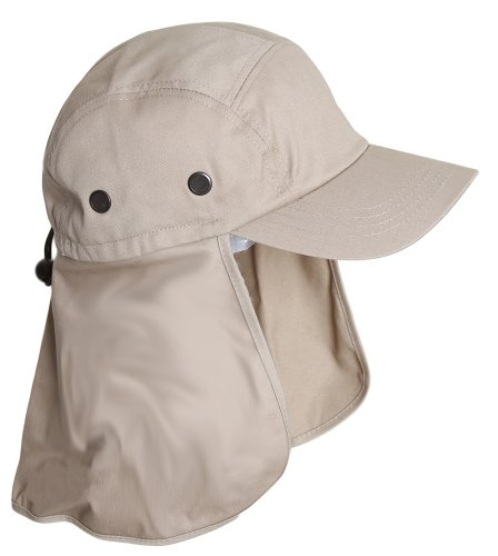 TOP HEADWEAR Vacationer Flap Hat With Full Neck Cover - ()