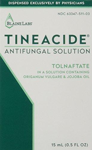Tineacide Solution AntiFungal Treatment-0.5oz