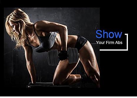 Yosoo Profesional Set de Pesas para Entrenamineto de Aptitud, Mancuernas para Ejercicio de Bíceps en