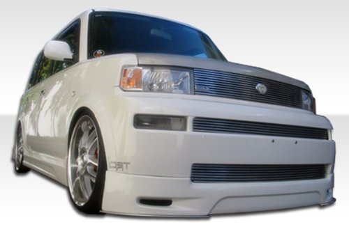 2004-2006 Scion xB Duraflex F-1 Kit- Includes F-1 Front Lip (103102), F-1 Rear Lip (103104), and F-1 Sideskirts (103103). - Duraflex Body Kits