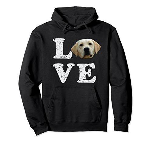 I Love My Yellow Lab Hoodie | Labrador Retriever Dog Gift