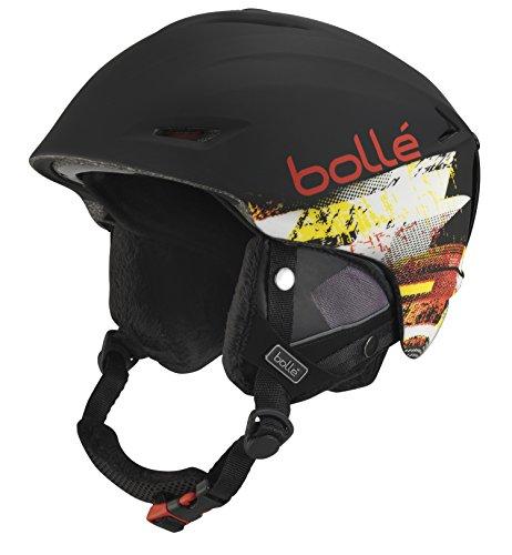 Bolle Sharp Helmets, Soft Black/Red, 61-63 cm
