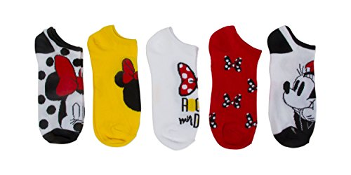 Disney Minnie Mouse Ladies and Juniors 5 PK no (Disney Womens Minnie Mouse)
