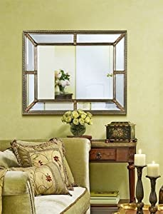 Gorgeous Extra Large Mirror Framed Wall Mirror
