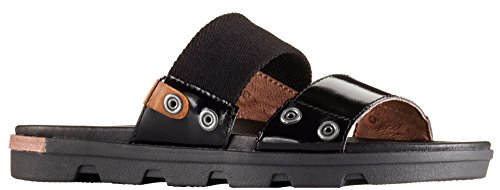 5 Shoes SOREL Black Sandal Women's Slide Torpeda Y1qBT