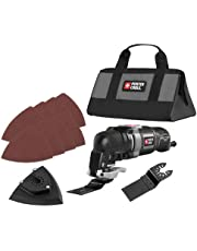 PORTER-CABLE PCE606K 3-Amp Oscillating Multi-Tool Kit with 11 Accessories