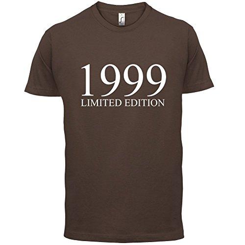 1999 Limierte Auflage / Limited Edition - 18. Geburtstag - Herren T-Shirt - Schokobraun - L