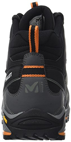 MILLET - Hike Up Mid, Scarpe alte da hiking Unisex  Adulto Anthracite/Orange