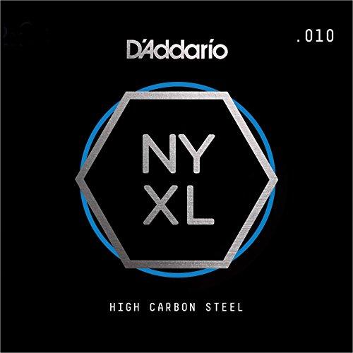 D'Addario NYS010 Single Plain Steel Guitar String.010