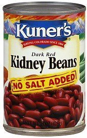 Kuners Kidney Beans Dark Red No Salt Added by Kuner's ()