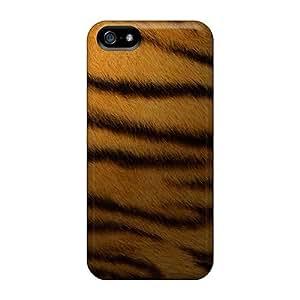 Excellent Design Tiger Leather Phone Case For Iphone 5/5s Premium Tpu Case