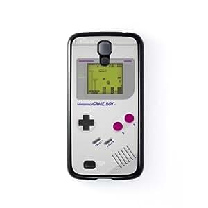 Retro Gadgets - Gameboy Carcasa Protectora Snap-On en Plastico Negro para Samsung® Galaxy S4 de DevilleArt + Se incluye un protector de pantalla transparente GRATIS