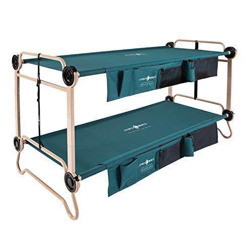 Disc-O-Bed X-Large with Organizers and Leg Extension (Best Shoes For Moving Furniture)