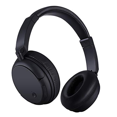 Bluetooth Headphone Over Ear, ELEVENSES Hi-Fi Stereo BT 5.0 Headset with Deep Bass, Movable and Lightweight, Wired…