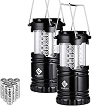 Etekcity Lantern Camping Lantern Battery Powered Lights for Power Outages, Home Emergency, Camping, Hiking, Hu