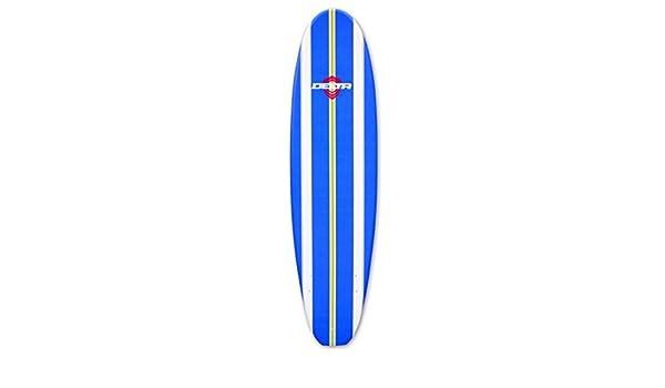 Alder Delta - Tabla de surf tabla de surf de espuma de mini mal 7 ft 6 - Rayas de color azul: Amazon.es: Deportes y aire libre