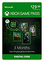 Xbox Game Pass - 3 Month Membership - Xbox One [Digital Code]