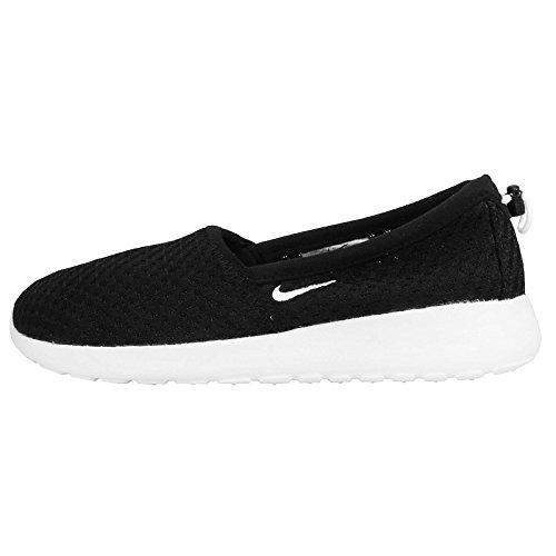 Nike Women's Wmns Roshe One Slip, BLACK/WHITE, 7.5 US