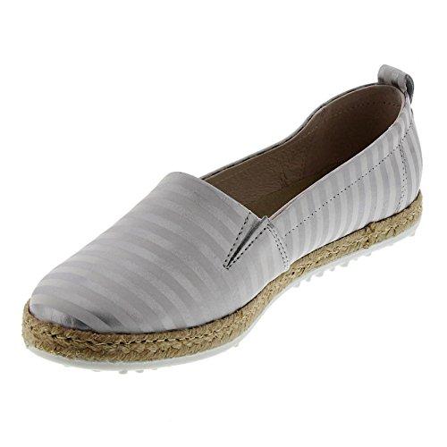 Marc Shoes Emily Damen Espadrilles Weiß (Weiß 193)