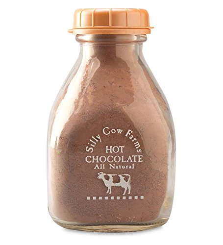 Silly Cow All Natural Hot Chocolate Mix In Milk Bottle