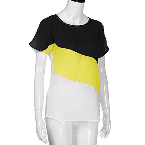 Jaune VNEIRW Femme Clothing Chemisier Women's wgx7gqOCI