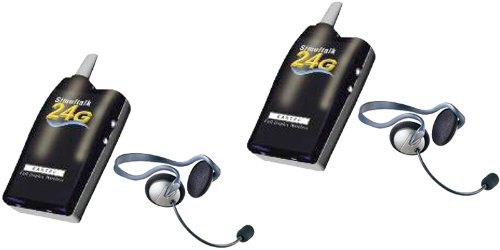 Eartec Simultalk 24G Wireless System 2 Station Setup With Two Monarch Headsets