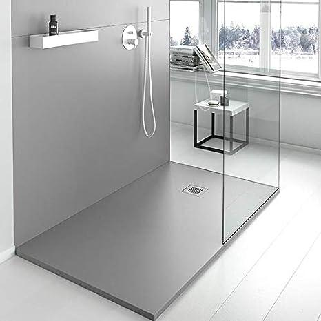 Plato de Ducha Resina SMOOTH de NUOVVO® 70 cm de ancho CHOCOLATE: Amazon.es: Bricolaje y herramientas