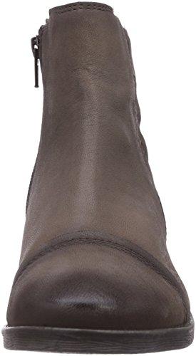 bugatti V3635PR5G - botines chelsea de cuero mujer gris - Grau (Smoky grau 155)