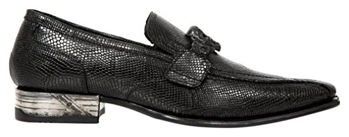 Rock Nw154 New M Uomo Mocassini S1 Black Nero Rnndpgxw