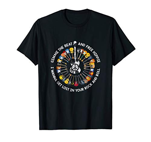 Gimme The Beat & Free Hippie T-shirt