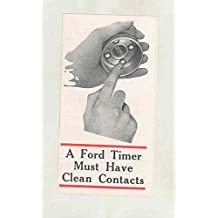 1915 ? Ford Model T Goodrich Old Ironsides Timer Brochure